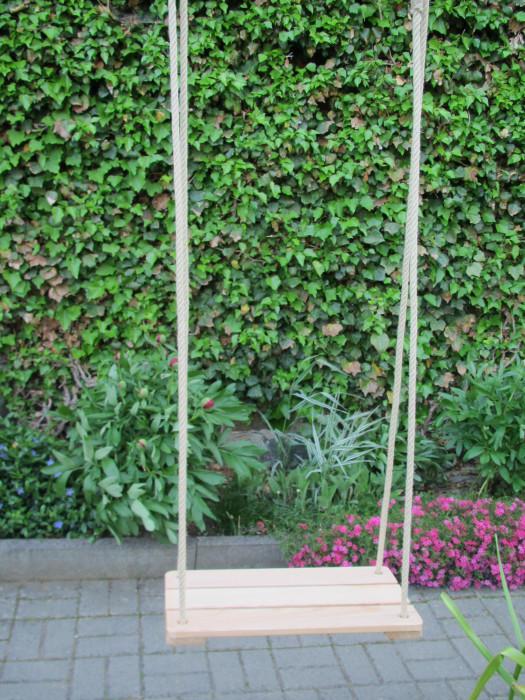 brettschaukel f r erwachsene aus eschenholz. Black Bedroom Furniture Sets. Home Design Ideas