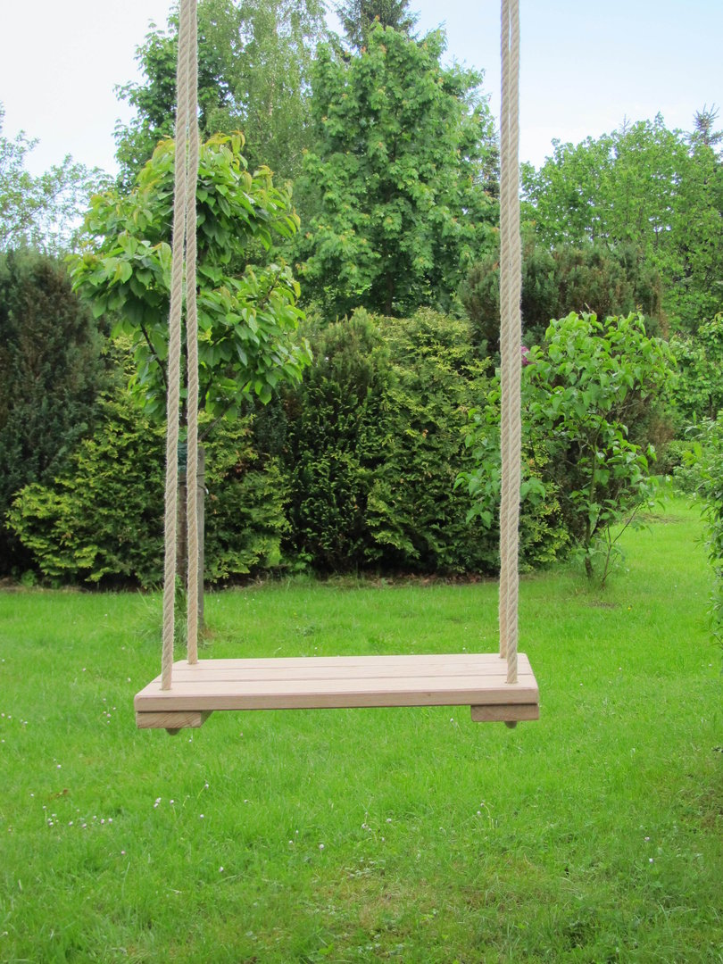 schaukel f r erwachsene aus eichenholz. Black Bedroom Furniture Sets. Home Design Ideas