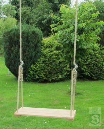 schaukel f r erwachsene aus eichenholz extra gro. Black Bedroom Furniture Sets. Home Design Ideas